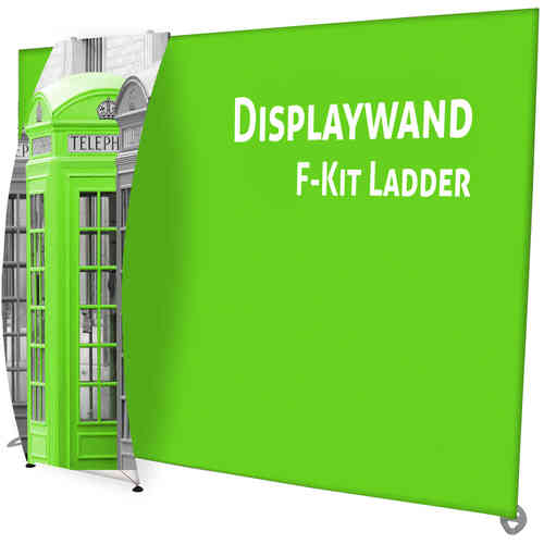 Displaywand F-Kit Ladder